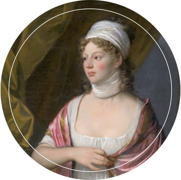 Gemälde der geistreichen Königin Luise, Namenspatronin des Louisa's Place Hotel am Kudamm