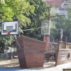 Piratenspielplatz am Tegeler Weg